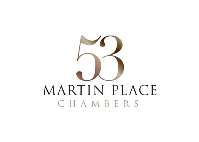 53 Martin Place Chambers Logo design by Daniel Sim