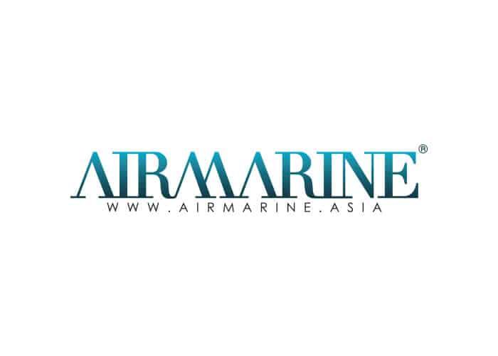 Airmarine Logo design by Daniel Sim