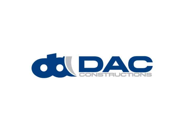DAC Constructions Logo Design by Daniel Sim