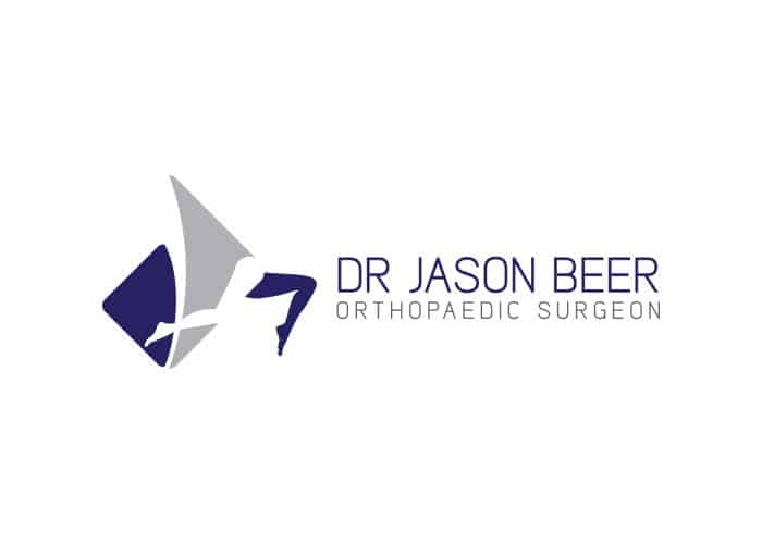 Dr. Jason Beer Orthopaedic Surgeon Logo Design by Daniel Sim