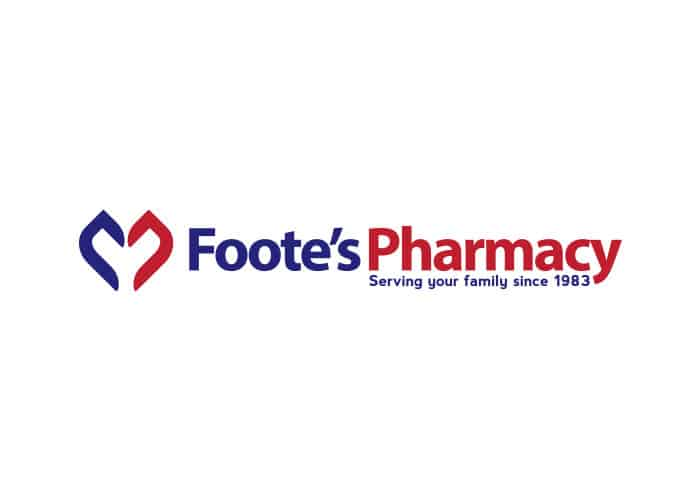 Foote's Pharmacy Logo Design by Daniel Sim