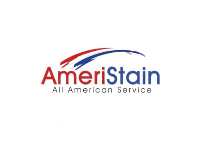 Ameristain All American Service Logo Design by Daniel Sim