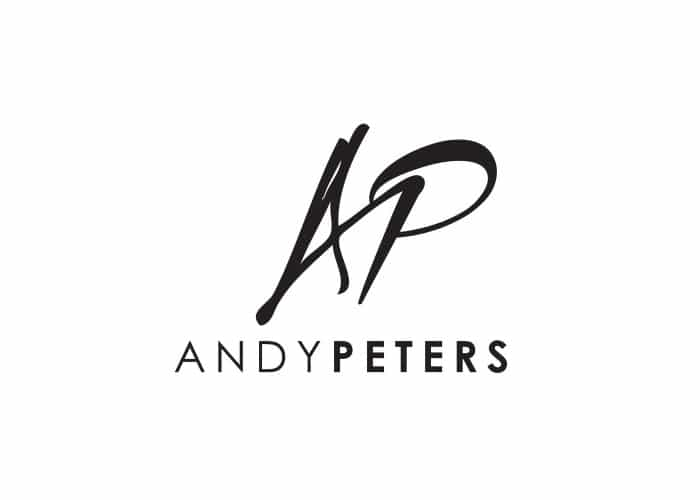Andy Peters Logo design by Daniel Sim