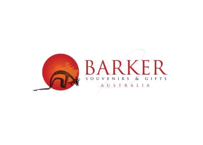 Barker Souvenirs and Gifts Logo Design by Daniel Sim