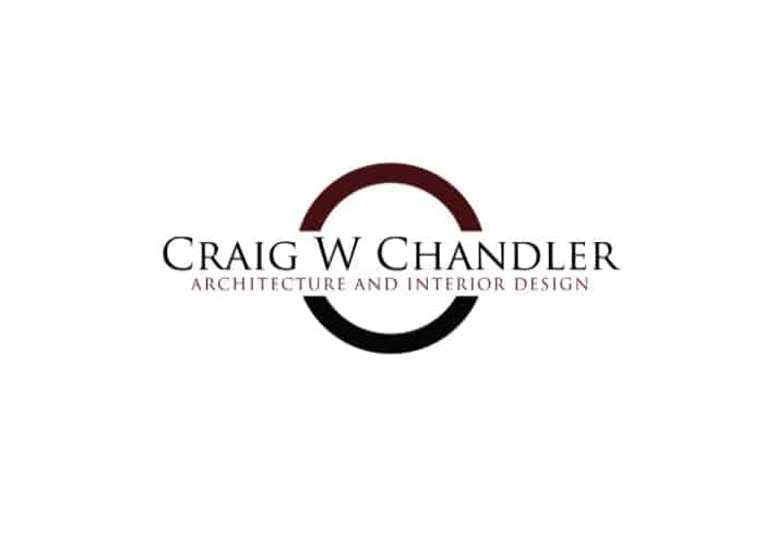 Craig W. Chandler Architecture and Interior Design Logo Design by Daniel Sim