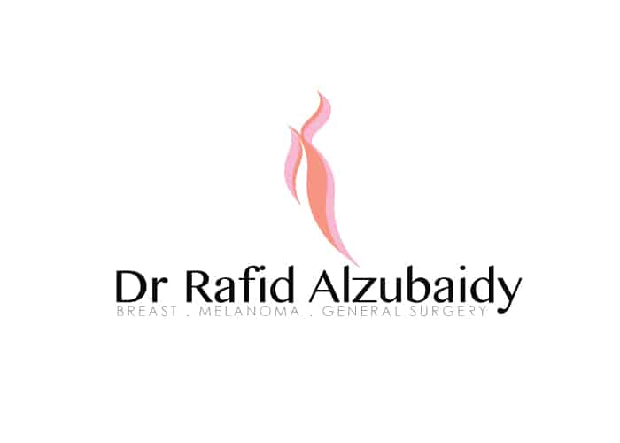 Dr. Rafid Alzubaidy Breast Melanoma General Surgery Logo Design by Daniel Sim
