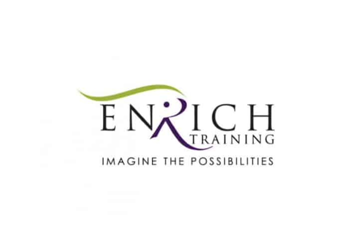 Enrich Training Logo Design by Daniel Sim