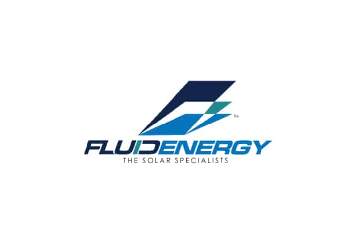 Fluid Energy The Solar Specialists Logo Design by Daniel Sim