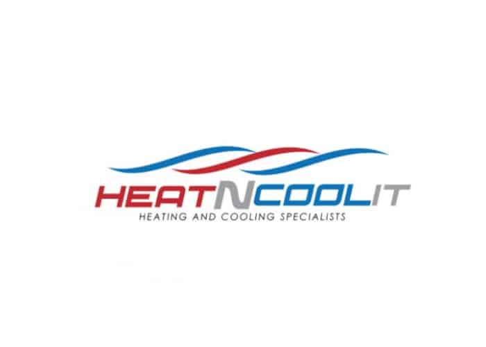 Heat N Cool It Logo Design by Daniel Sim