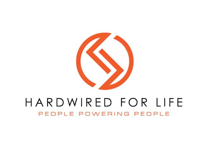 Hardwired for Life Logo Design by Daniel Sim