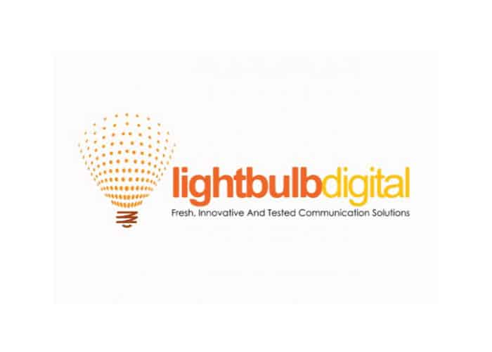 Light Bulb Digital Logo design by Daniel Sim