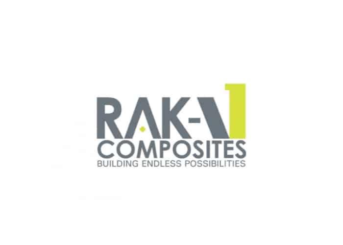 Raka 1 Composites Logo design by Daniel Sim