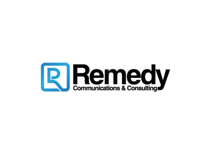 Remedy Communications and Consulting Logo Design by Daniel Sim