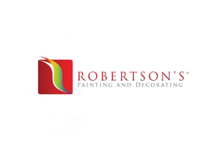 Robertson's Painting and Decorating Logo Design by Daniel Sim