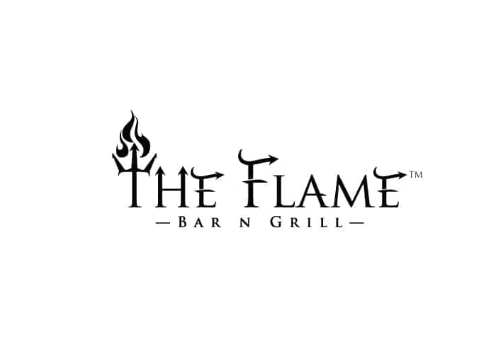 The Flame Bar N Grill Logo Design by Daniel Sim