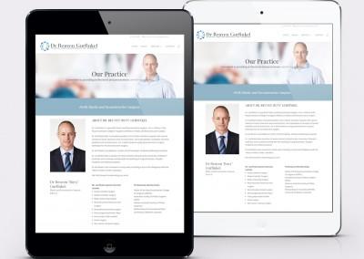 Dr Reuven Gurfinkel – Web Design Perth