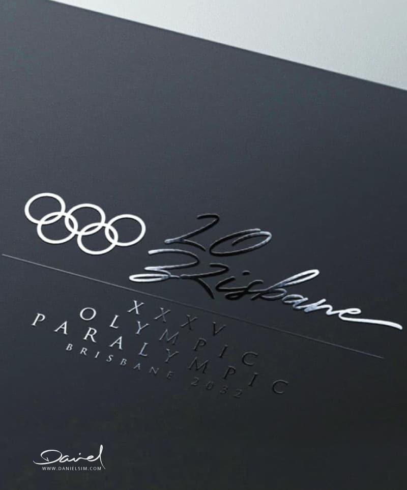 Brisbane Olympic Logo by Daniel Sim