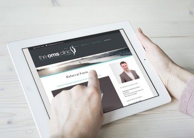 The OMS Clinic Gold Coast Web Design