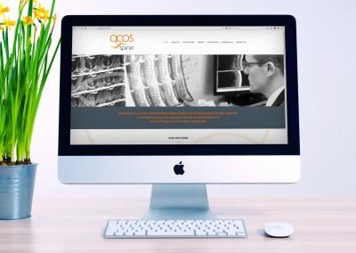 QCOS Spine – Medical Web Design Brisbane
