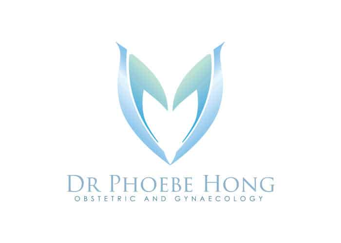 Dr. Phoebe Hong Obstetric and Gynaecology Logo Design by Daniel Sim