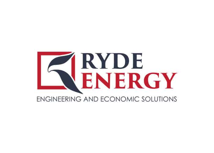 Ryde Energy Logo Design by Daniel Sim