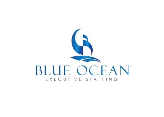 Blue Ocean Executive Staffing Logo Design by Daniel Sim