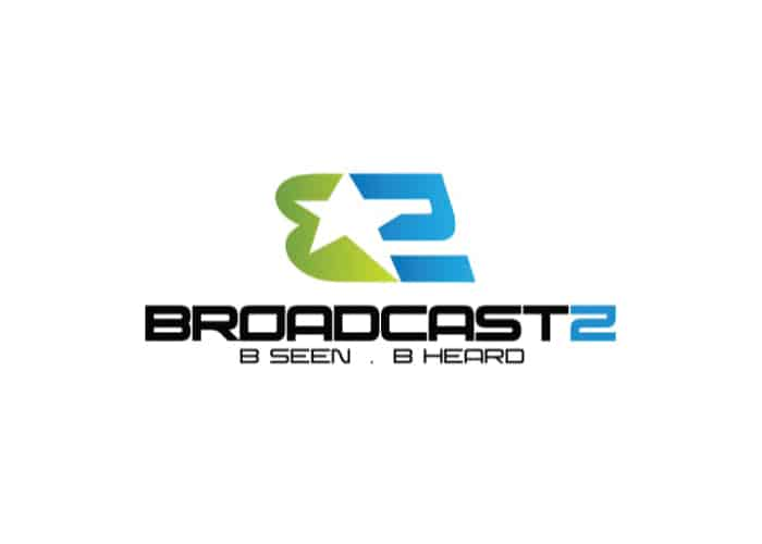 Broad Cast 2 Logo design by Daniel Sim