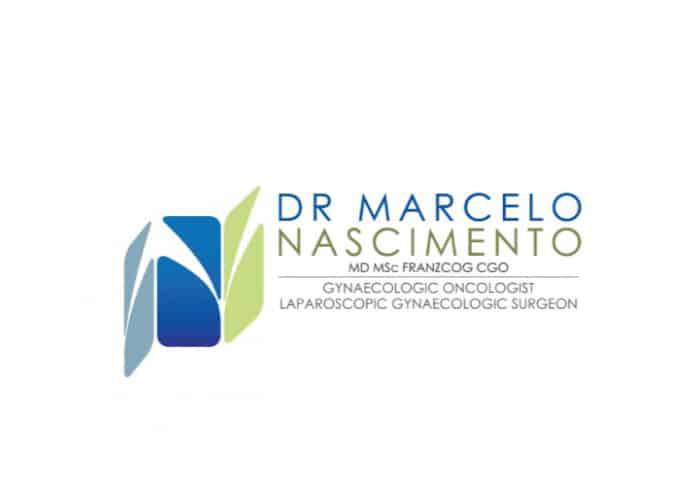 Dr. Marcelo Nascimento Logo design by Daniel Sim