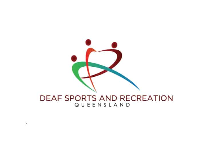 Deaf Sports and Recreation Queensland Logo design by Daniel Sim