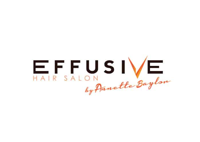 Effusive Hair Salon Logo design by Daniel Sim