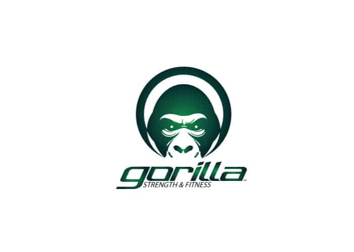 Gorilla Strength and Fitness Logo Design by Daniel Sim