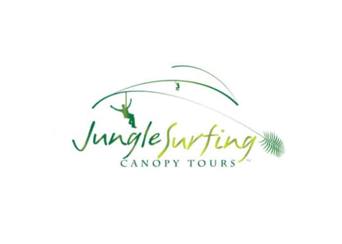 Jungle Surfing Canopy Tours Logo Design by Daniel Sim