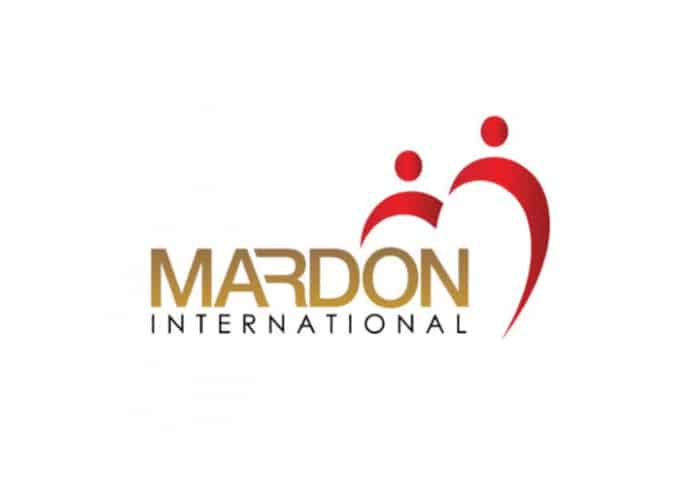 Mardon International Logo design by Daniel Sim