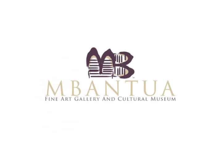Mbantua Fine Art Gallery and Cultural Museum Logo Design by Daniel Sim