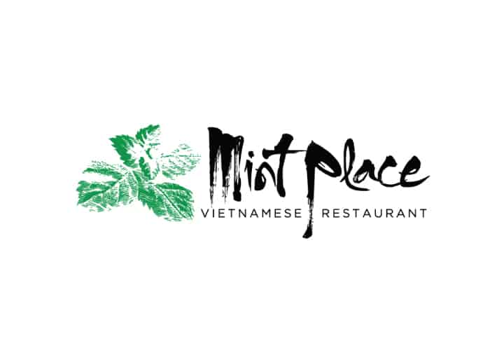 Mint Place Vietnamese Restaurant Logo Design by Daniel Sim