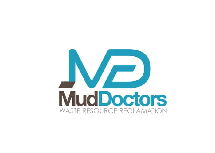 Mud Doctors Waste Resource Reclamation Logo design by Daniel Sim