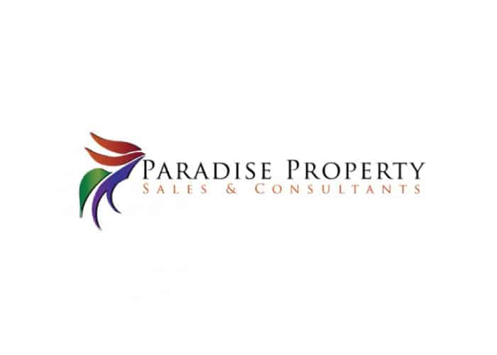 Paradise Property Sales and Consultants Logo Design by Daniel Sim