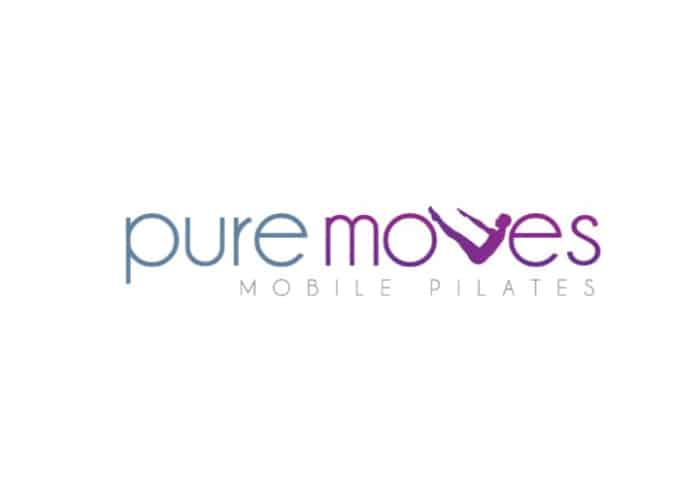 Pure Moves Mobile Pilates Logo design by Daniel Sim