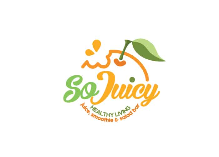 So Juicy Healthy Living Logo Design by Daniel Sim